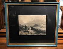 "Antique engraving ""The Well"""