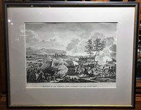 "Antique engraving ""Battle of Friedland"""