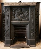 Antique firemantel
