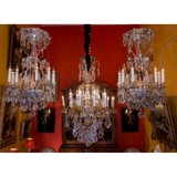 Pair of antique chandeliers