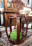 Antique Chinese pedestal table