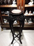 Antique console table oriental style