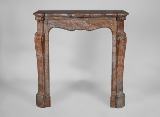 Antique fireplace Louis XV style