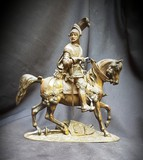 "Antique sculpture ""Knight on a horse"""