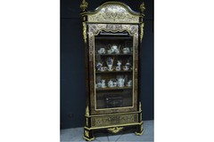 Antique Boulle display showcase