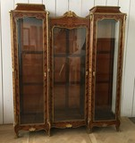 Antique Louis XV showcase