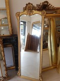 Antique art nouveau mirror