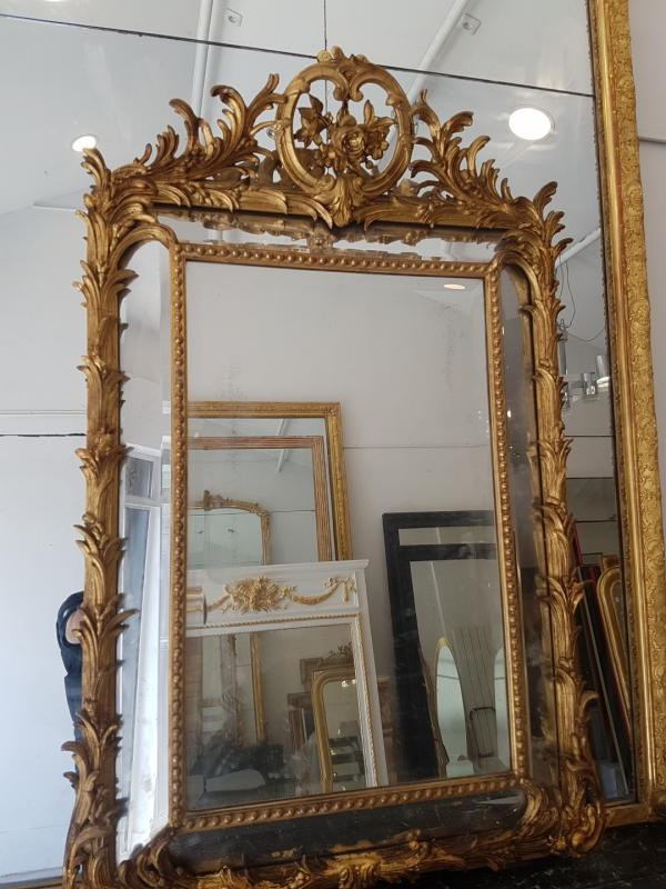 Antique Napoleon III mirror