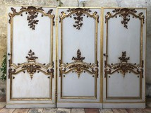 Antique Louis XV castle doors