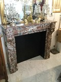 Antique Louis-Philippe style fireplace