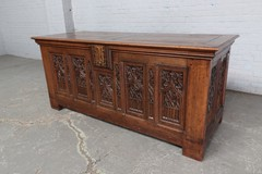 Antique Gothic chest