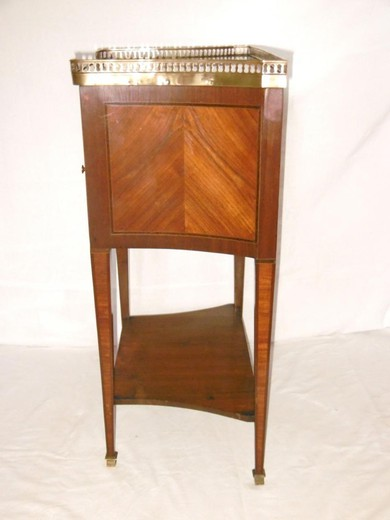 Antique bedside table