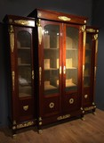 Antique empire bookcase