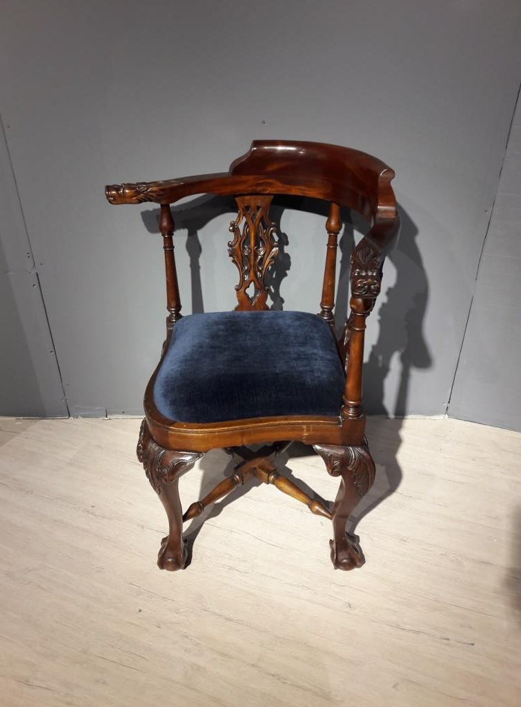 Antique chair in the style of Chippendale