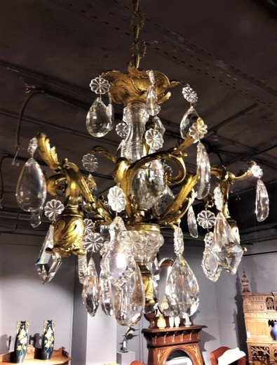 Antique Baroque Chandelier