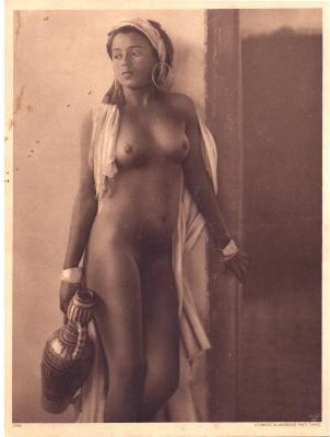 "Antique engraving ""Nude"""