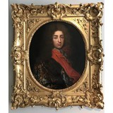 "Antique painting ""Portrait of a Man"""