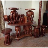"Seating set ""Elephants"""