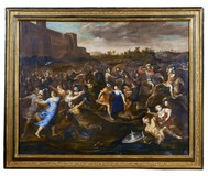 Antique paintings the rat of the Sabines