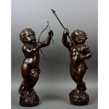 "Paired sculptures ""Putti"""