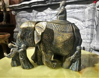 "Sculptural composition ""The Blind and the Elephant"""