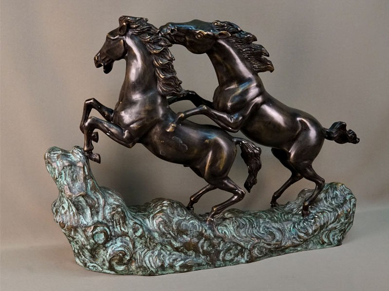 "Antique sculptural composition ""Horses"""