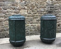 Pair of antique urns