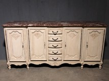 Marble Top Buffet Style Louis XV