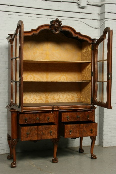 Antique Chippendale display showcase
