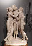 "Antique Sculptura ""Three Graces"""