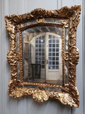 Antique gilt mirror regency periode