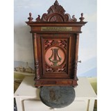 Antique polyphne cabinet