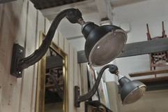 Antique twin lights