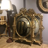 Antique pair mirror Napoleon III