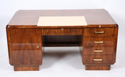 Antique art deco writing desk