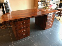 Antique art deco writing table