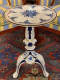 Antique porcelain coffee table