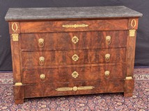 Antique Empire style chest of drawers