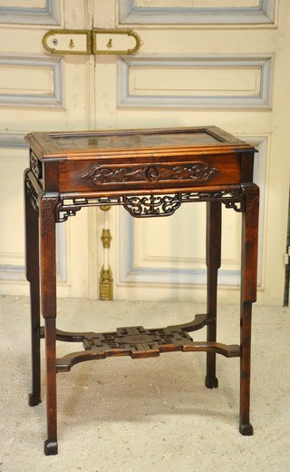 Antique table for needlework
