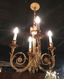 Antique Louis XVI style chandelier