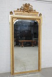 Antique mirror in the style of Louis XVI