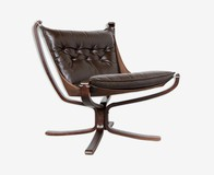 "Antique armchair by Sigurd Ressel ""Falcon"""