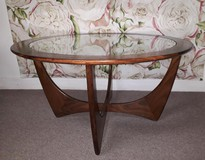 "Antique ""Astro"" model coffee table"