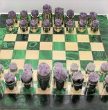 Antique chess game Amethyst