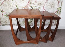 Antique 3 tables set