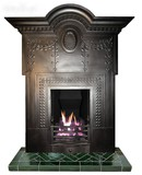 Rare antique fireplace