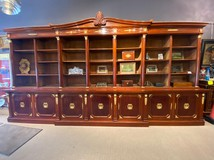 A rare antique library