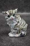 "Antique sculpture-lamp ""Kitten"""
