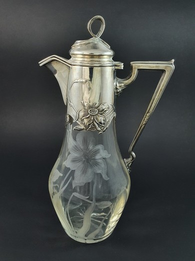Antique decanter
