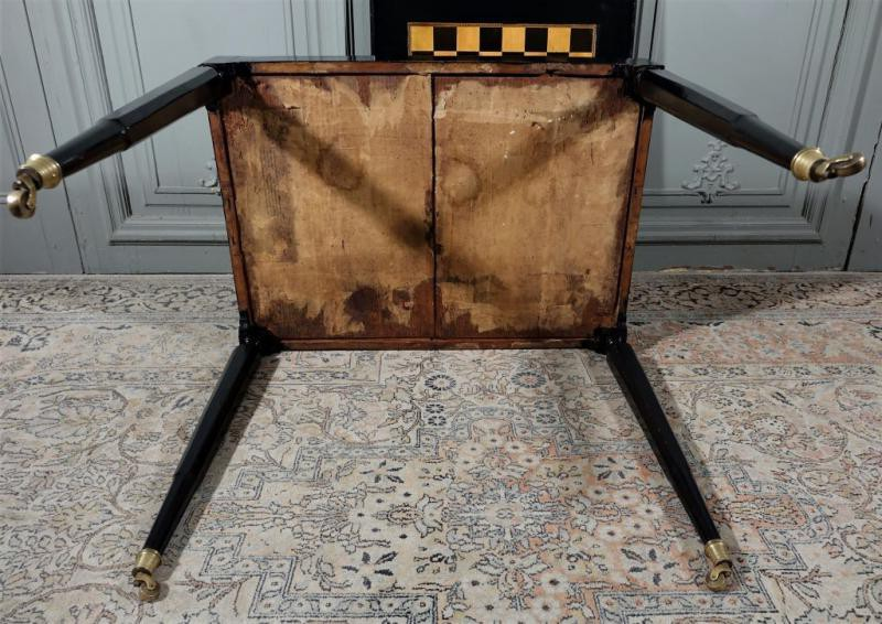 Antique gambling table